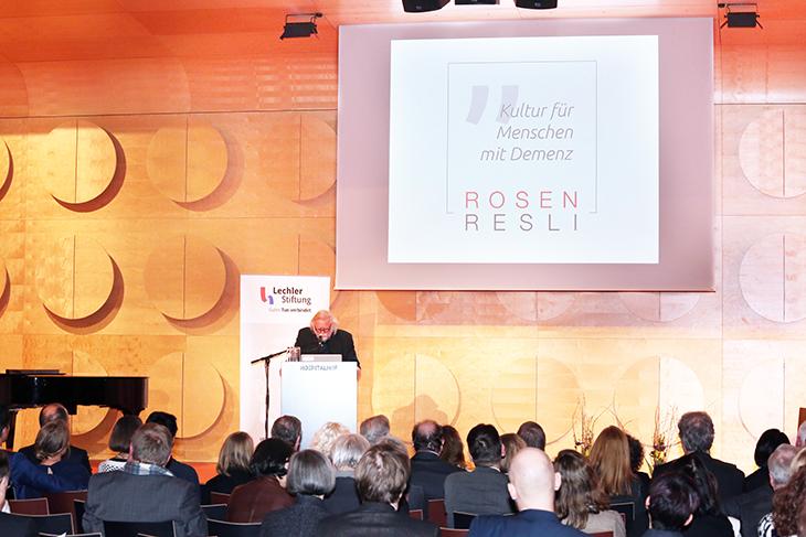 2. RosenResli e. V. Stuttgart, Projekt: Kultur für Menschen mit Demenz