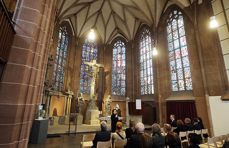Gelegenheit zur Besinnung in der sanierten Hospitalkirche.